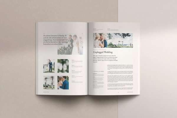 print Cover FV Magazin für Brautpaare